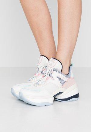 OLYMPIA TRAINER - Sneakersy niskie - cream/multicolor