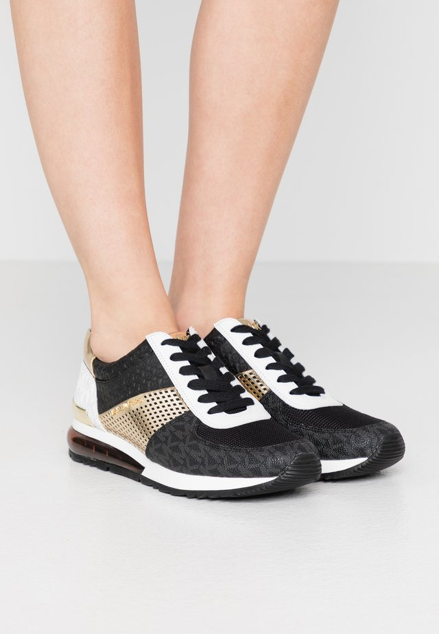 ALLIE TRAINER EXTREME - Sneaker low - black/pale gold