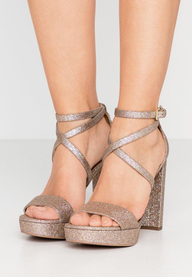 MICHAEL Michael Kors - CHARLIZE PLATFORM - High heeled sandals - multicolor