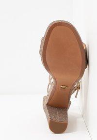 MICHAEL Michael Kors - CHARLIZE PLATFORM - High heeled sandals - multicolor - 6