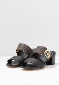 MICHAEL Michael Kors - SUMMER MID - Heeled mules - black - 4