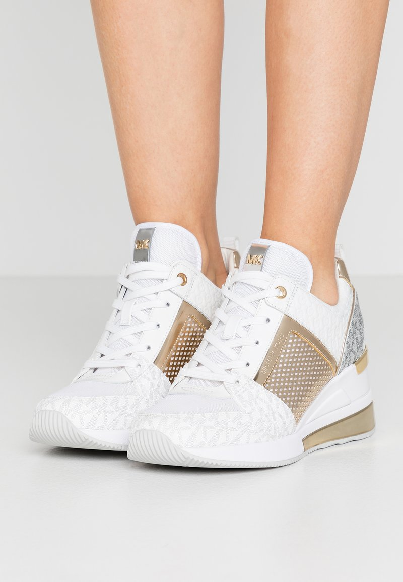 MICHAEL Michael Kors - GEORGIE TRAINER EXTREME - Trainers - bright white