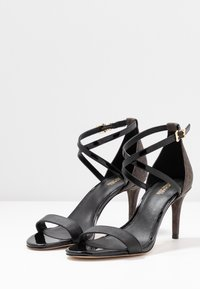 MICHAEL Michael Kors - AVA MID  - Sandals - black/brown - 4