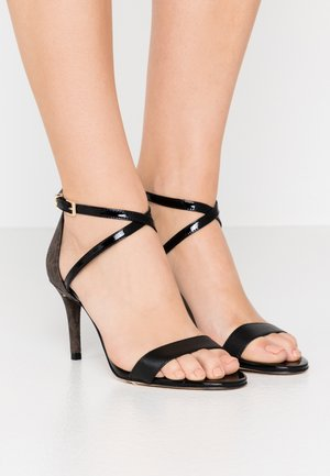 AVA MID  - Sandals - black/brown