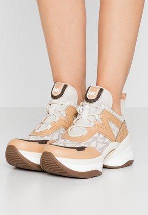 OLYMPIA TRAINER - Sneakersy niskie - vanilla