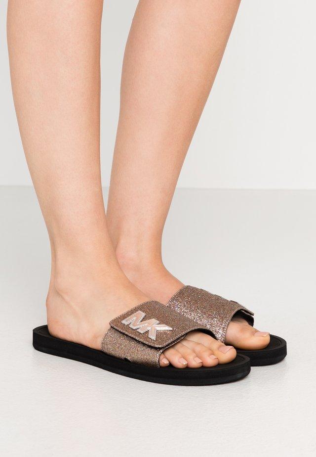 SLIDE - Pantofle - multicolor