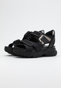 MICHAEL Michael Kors - HARVEY  - Platform sandals - black - 1