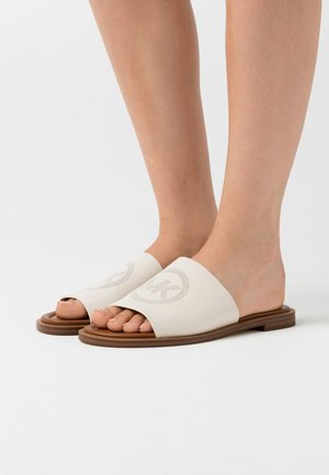LEANDRA SLIDE - Klapki - light cream