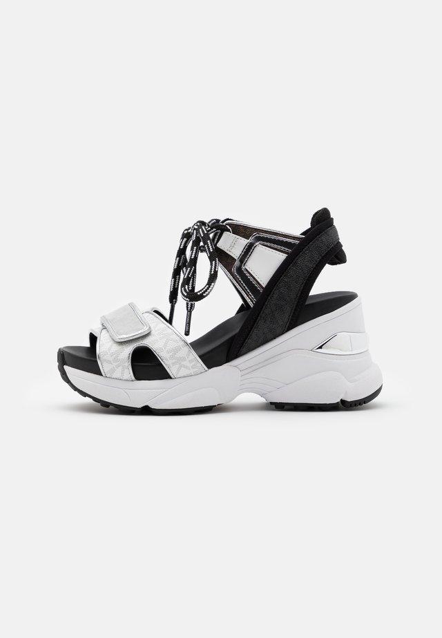 IRMA  - High Heel Sandalette - bright white/multicolor