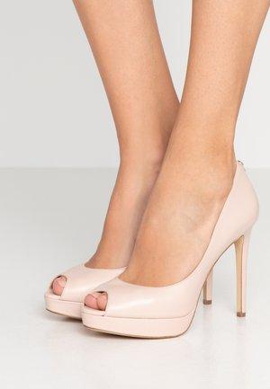 ERIKA PLATFORM - Peeptoes - soft pink