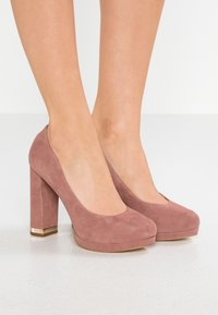 MICHAEL Michael Kors - VALERIE CLOSED TOE - High heels - dusty rose - 0