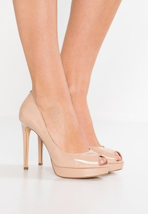 ERIKA - Peeptoe heels - light blush