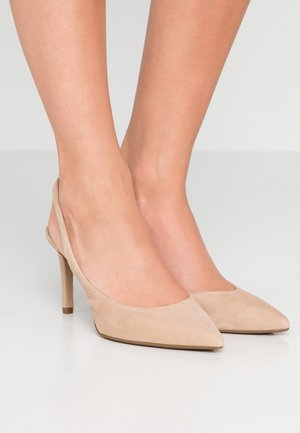 LUCILLE FLEX SLING - High Heel Pumps - sahara