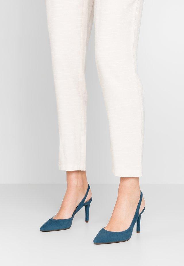 LUCILLE FLEX SLING - Zapatos altos - petrol