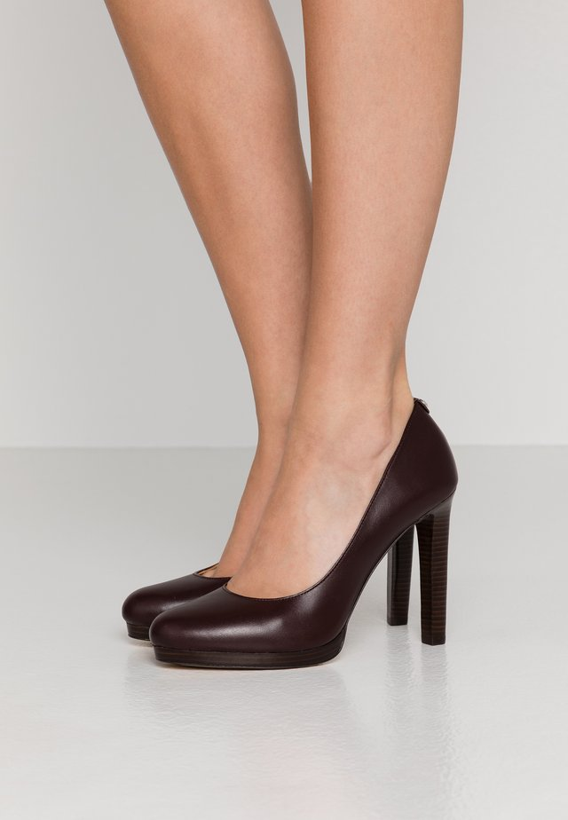 ETHEL - Zapatos altos - barolo