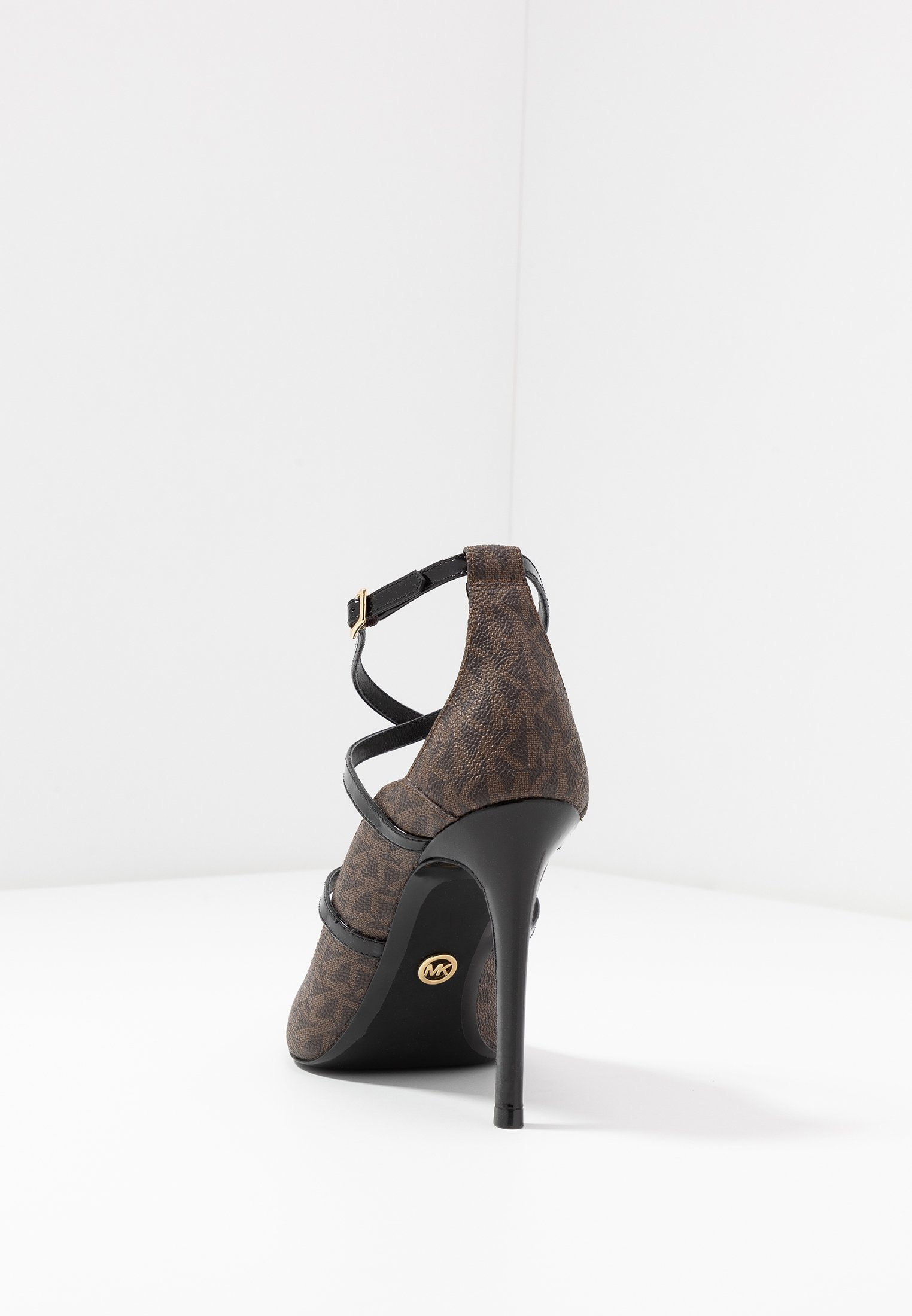 MICHAEL Michael Kors GENEVA  - High heels - brown/black