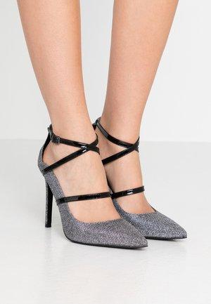 GENEVA - High heels - gunmetal