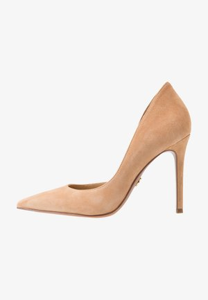 Klassiska pumps - camel