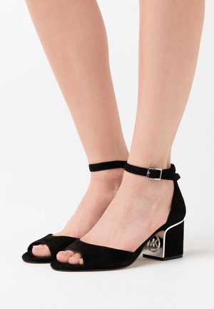 LANA MID - Sandals - black