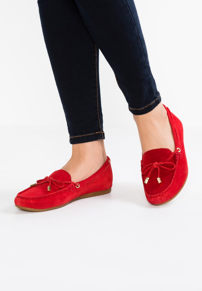 MICHAEL Michael Kors - SUTTON - Mocasines - bright red