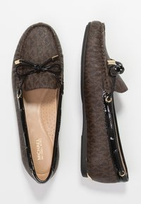 MICHAEL Michael Kors - SUTTON MOC - Mocassins - brown/black - 3