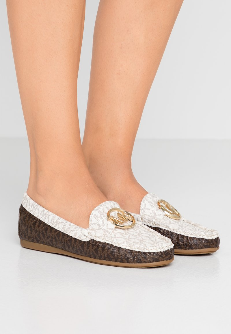 MICHAEL Michael Kors - CRAWFORD MOC - Slip-ons - brown