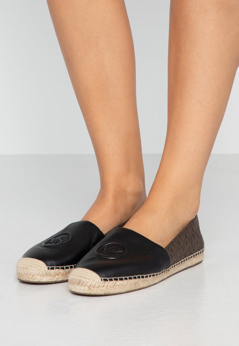 MICHAEL Michael Kors - Espadryle - black/brown