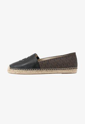 Espadrilles - black/brown