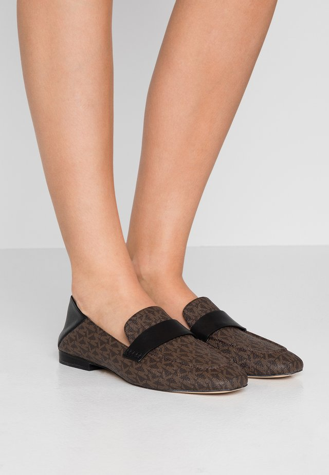 EMERY - Slip-ins - brown/black