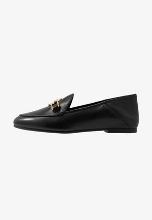 TRACEE LOAFER - Loaferit/pistokkaat - black
