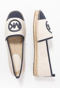 MICHAEL Michael Kors - EXCLUSIVE REY  - Espadrilky - light cream/navy - 1