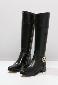 MICHAEL Michael Kors - FULTON HARNESS - Boots - black - 4