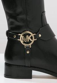MICHAEL Michael Kors - FULTON HARNESS - Boots - black - 2