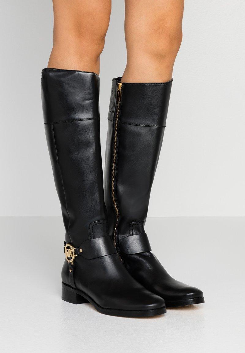MICHAEL Michael Kors - FULTON HARNESS - Boots - black