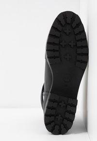 MICHAEL Michael Kors - BENSON BOOTIE - Botines con cordones - black - 6