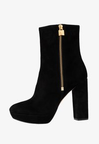 MICHAEL Michael Kors - FRENCHIE PLATFORM BOOTIE - Bottines à talons hauts - black - 1