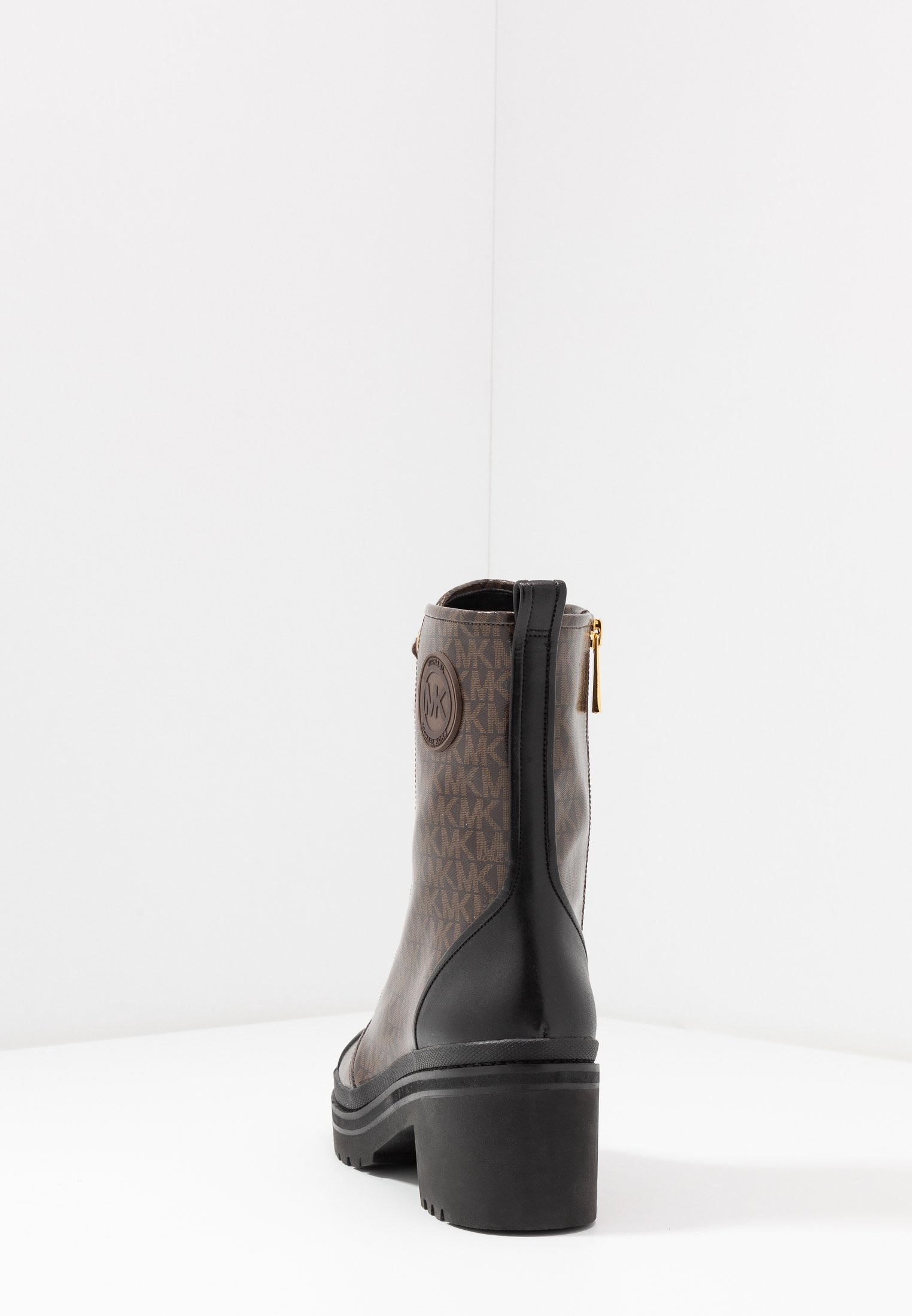 MICHAEL Michael Kors COREY BOOTIE - Botki na platformie - brown