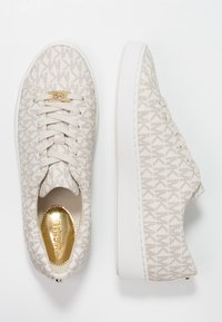 MICHAEL Michael Kors - KEATON LACE UP - Sneaker low - vanilla