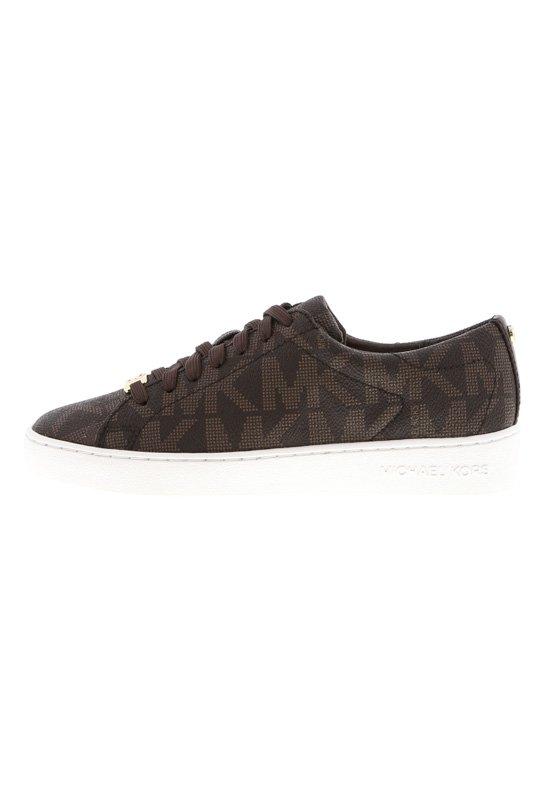 MICHAEL Michael Kors KEATON LACE UP - Sneakers - brown
