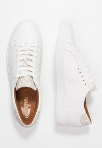 MICHAEL Michael Kors - IRVING - Sneakers basse - optic white/vanilla - 3