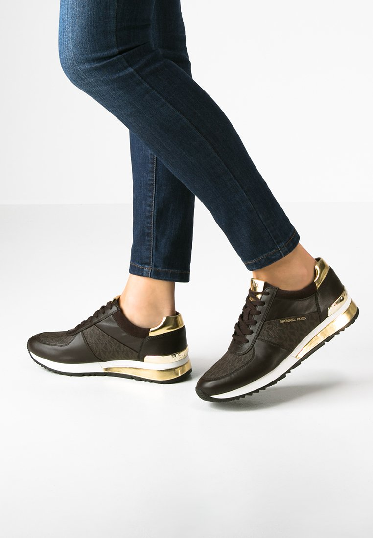 MICHAEL Michael Kors - ALLIE - Sneakers - brown