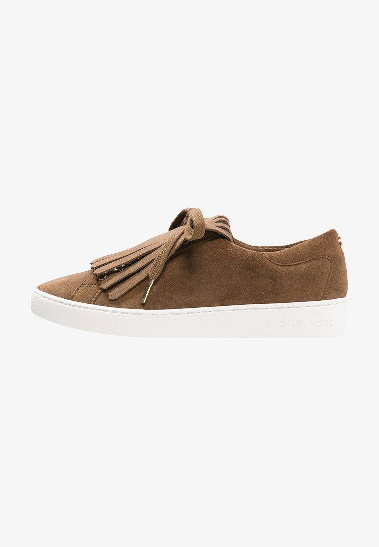 MICHAEL Michael Kors - KEATON KILTIE - Sneaker low - dark caramel