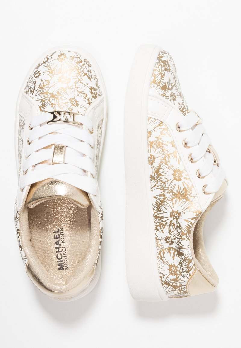 MICHAEL Michael Kors - ZIA IVY FLORAL - Baskets basses - white/gold
