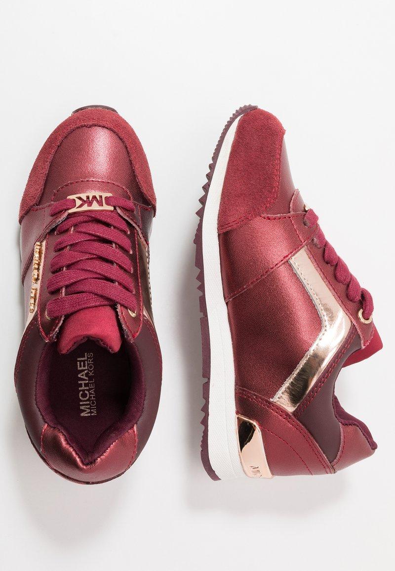 MICHAEL Michael Kors - ZIA ALLIE TAYLIN - Sneaker low - burgundy