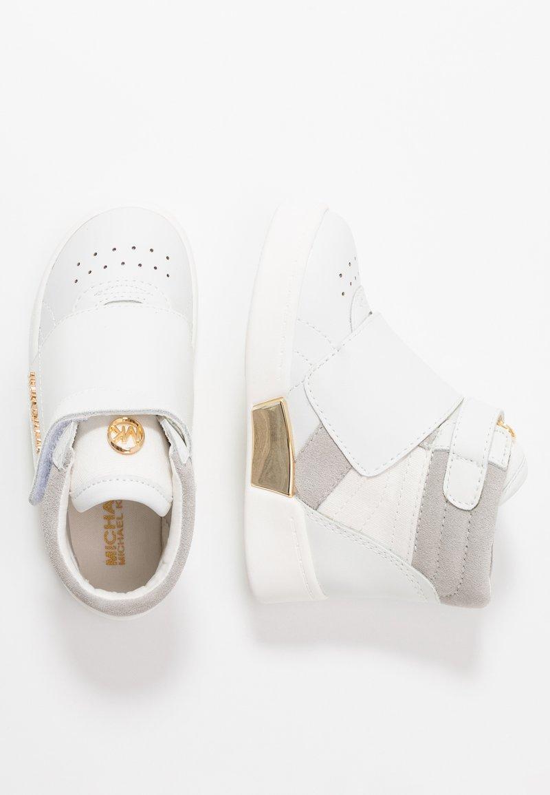MICHAEL Michael Kors - ZIA GUARD JUNIA - Sneaker high - white