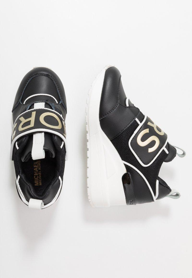 MICHAEL Michael Kors - ZIA NEO DEBO - Sneakers laag - black