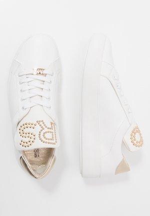 MAVEN DOTTI - Sneakersy niskie - white/gold