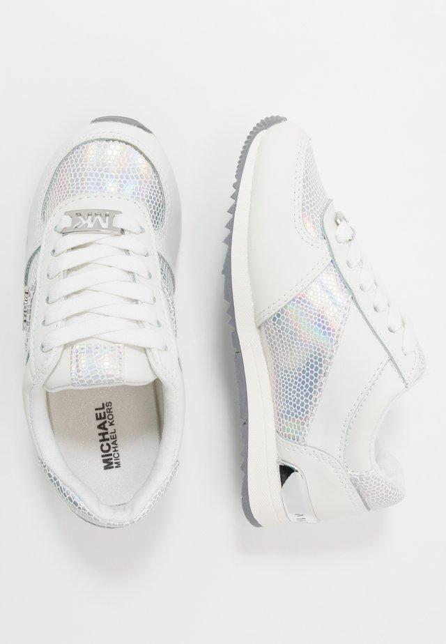 ZALLIERAZA - Tenisky - white/silver