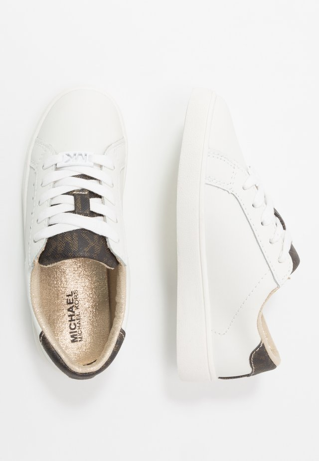 ZIVYALISHA - Sneakers laag - white/brown