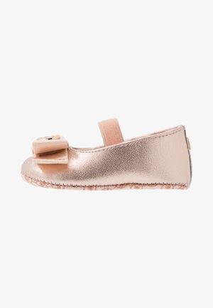 ZIA BABY ANTIOPE - Ankle strap ballet pumps - rose gold